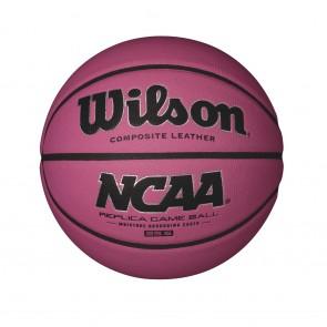 Мяч баскетбольный Wilson NCAA REPLICA PINK BKT SZ6 SS16