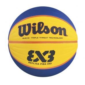 Мяч баскетбольный Wilson FIBA 3X3 REPLICA RBR BSKT SZ6 SS16