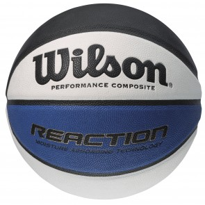 Мяч баскетбольный Wilson REACTION BLA/WHI/BLU TRAINING BALL SIZE 5 SS14