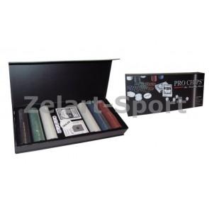 Покерный набор в цвет. карт. коробке-200 YH-300AP