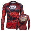 Рашгард Venum Crimson Viper Rashguard Long Sleeves Black Red