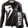 Рашгард Venum Giant rashguard - Black - Long sleeves